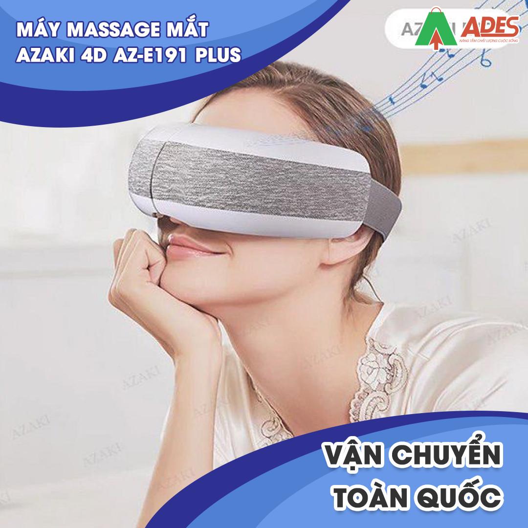 May Massage Azaki 4D AZ E191 Plus chinh hang
